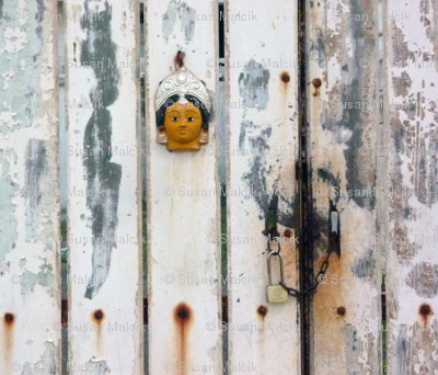 The Gate with a Face, Pondicherry, India