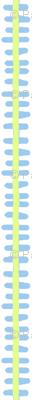 dino-stripe (deep sky and br. green)