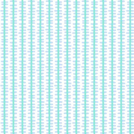 din-o-stripe (bl-teal)  fabric by pattyryboltdesigns on Spoonflower - custom fabric