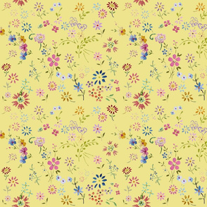 Ditsy_flowers_yellow