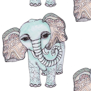 Whimsical Elephant