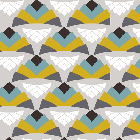 PyramidSwatch fabric by anderson_lee on Spoonflower - custom fabric