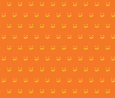 jordnöt pumpkin fabric by wildolive on Spoonflower - custom fabric