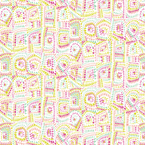 Geo_Festival fabric by sirtom on Spoonflower - custom fabric