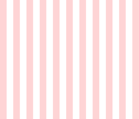 "pink stripe (1"") fabric by amybethunephotography on Spoonflower - custom fabric"