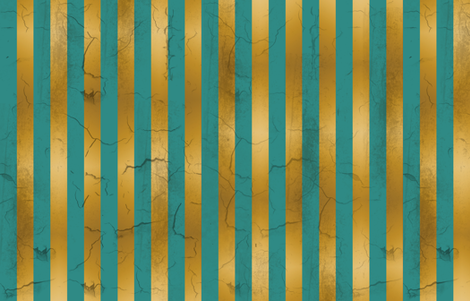Distressed Stripes Teal