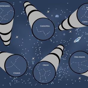 Telescopic constellations