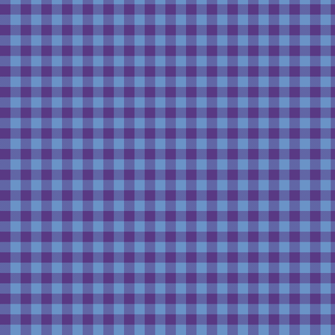 blueberry gingham fabric by weavingmajor on Spoonflower - custom fabric