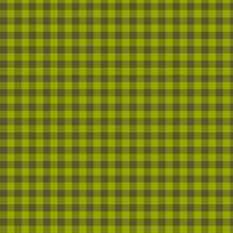 olive green gingham fabric by weavingmajor on Spoonflower - custom fabric