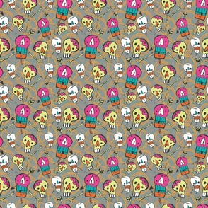 fiesta skulls