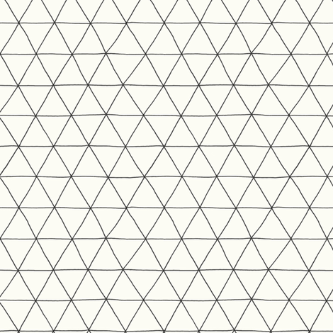 triangles fabric by bountifulstudio on Spoonflower - custom fabric