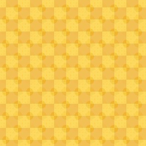 Golden Coins on a Golden Checkerboard