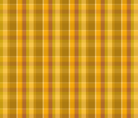 Brass plaid fabric by keweenawchris on Spoonflower - custom fabric