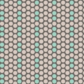 Dots Grey Blue