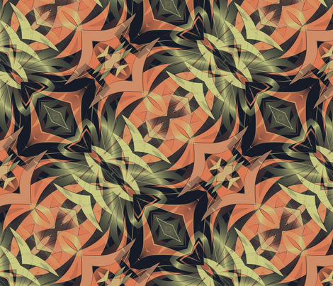 Oasis fabric by kociara on Spoonflower - custom fabric