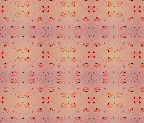 Fall Pumpkins fabric by flowr1717 on Spoonflower - custom fabric