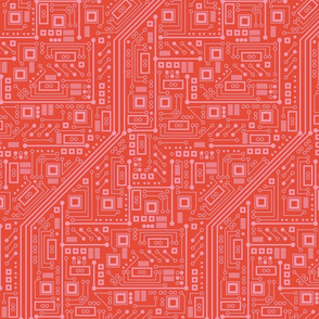 Robot Circuit Board (Coral)