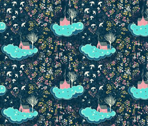 Way home... fabric by kirpa on Spoonflower - custom fabric