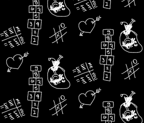Recess fabric by peacoquettedesigns on Spoonflower - custom fabric