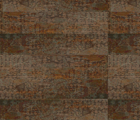 Rustik - brown, rust, grey fabric by materialsgirl on Spoonflower - custom fabric