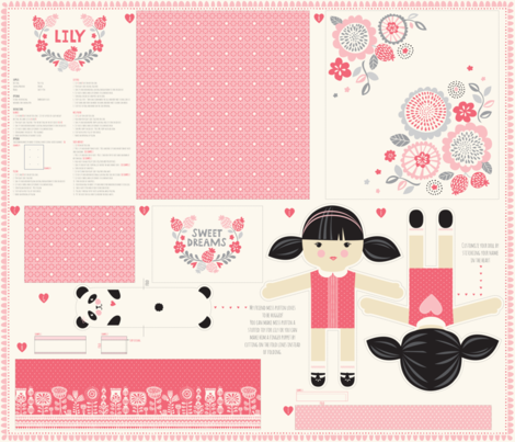 1_yard_doll_template_LILY fabric by stacyiesthsu on Spoonflower - custom fabric