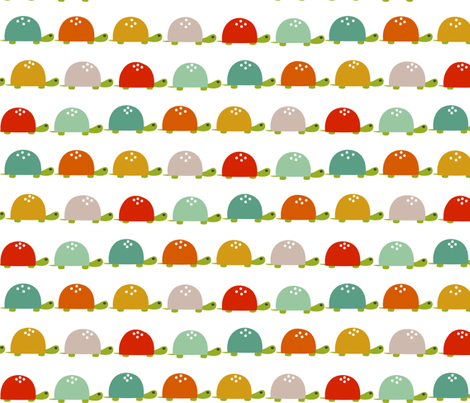 Baby Turtles fabric by natitys on Spoonflower - custom fabric