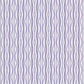 Rococo watercolor stripe in lavenders