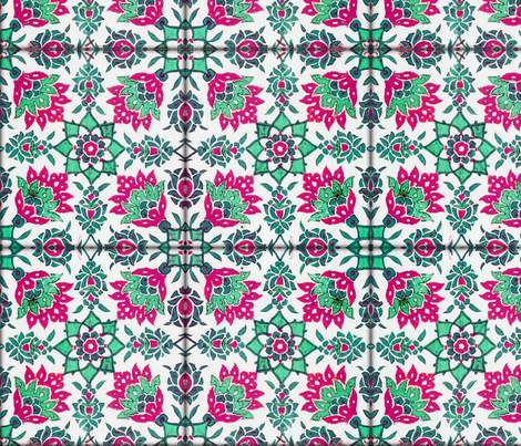 The Lata Tile ~ Forgotten Emerald