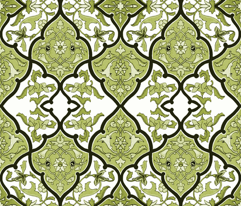 The Sybil ~ Unknown Prince fabric by peacoquettedesigns on Spoonflower - custom fabric
