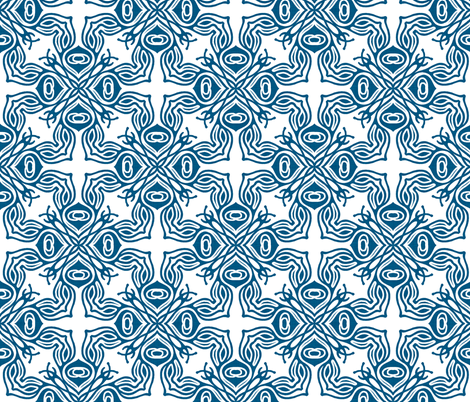 ravenna_white fabric by holli_zollinger on Spoonflower - custom fabric