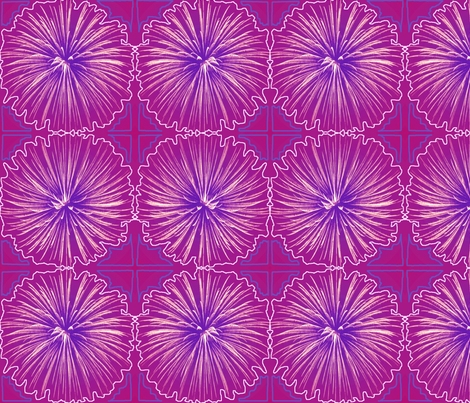 Fireworks Flower fabric by robin_rice on Spoonflower - custom fabric