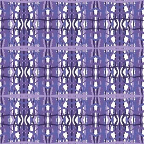 Outrageous plaid in lavenders and purples
