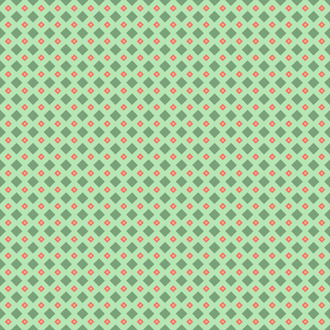 Ditsy_diamonds fabric by junebabyboutique on Spoonflower - custom fabric