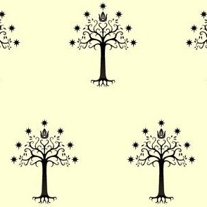 Tree of Gondor- Cream
