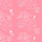 Gallifrey Police Box Pink