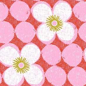 dotty flowers