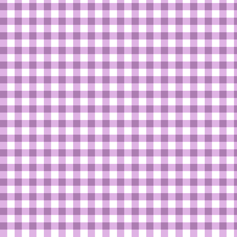 summer lilac gingham
