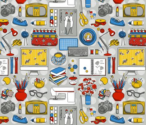 Comfort Zone fabric by cerigwen on Spoonflower - custom fabric