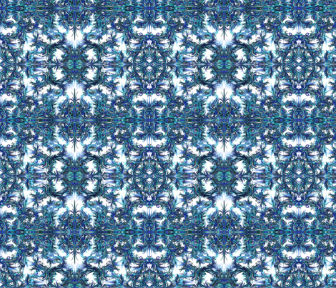 Blue Fantasy fabric by pw_marcus on Spoonflower - custom fabric