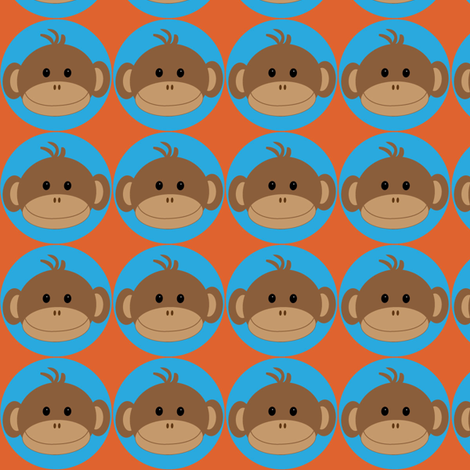 Monkeys in Blus Circles