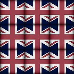Union Jack Charm Squares