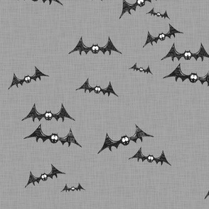 Gone Batty - scatter grey
