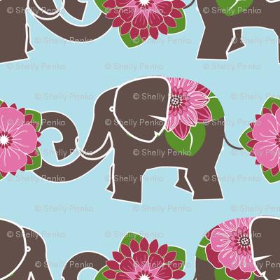 Elephants in my Garden