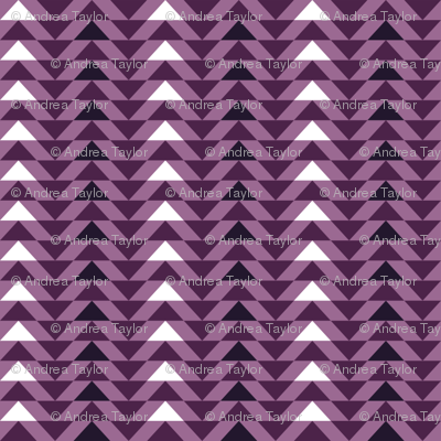 Mini Purple Triangles