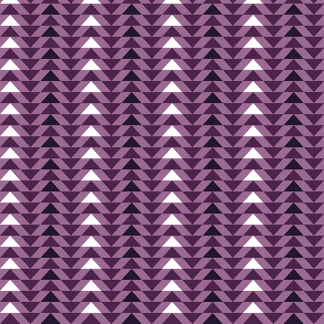 Mini Purple Triangles fabric by limegreen on Spoonflower - custom fabric