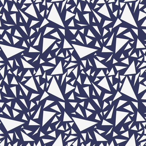 _navy fabric by twinklesprinkleshop on Spoonflower - custom fabric