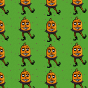 Happy Dancing Jack 'o Lanterns