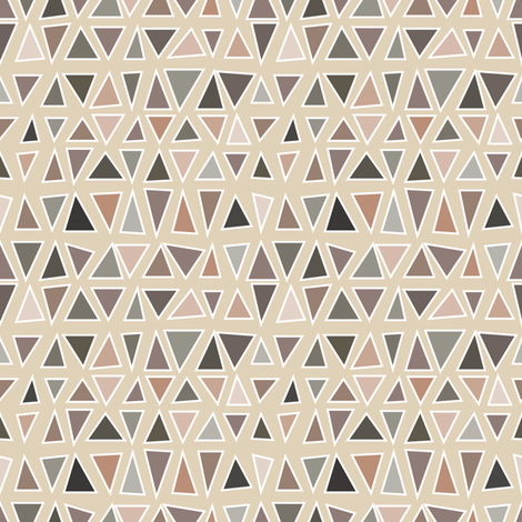 Netrual Geo fabric by artfully_minded on Spoonflower - custom fabric