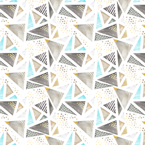 GEO Repeat fabric by emilysanford on Spoonflower - custom fabric