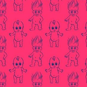Kewpie and Troll Friends!